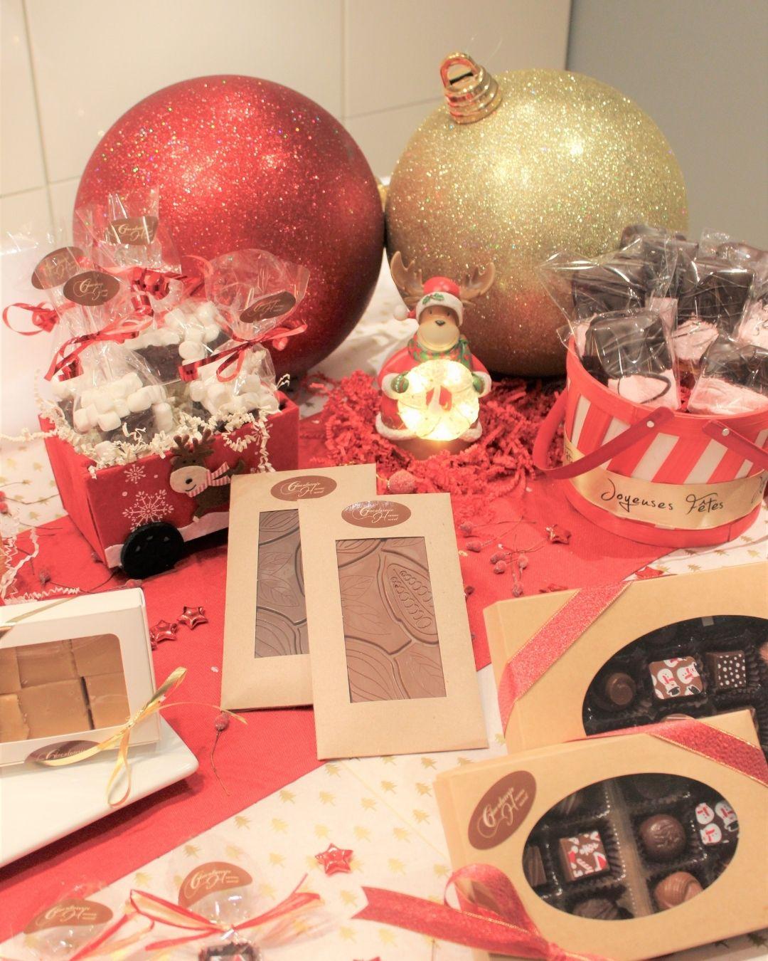 Chocolaterie Heureux Hasard - Un Marché dans l'air du temps – Marché de Noël et des traditions de Longueuil 2020